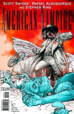 American Vampire, Comic, Aug 10, 2010