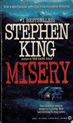 Misery, Paperback, 1990