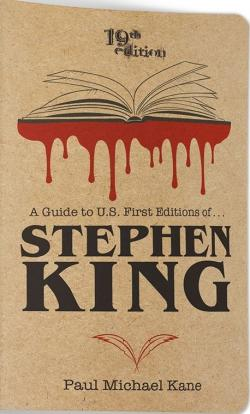 A Guide to U.S. First Editions of Stephen King, Paperback, 2019