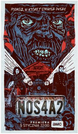 NOS4A2, Movie Poster, Jan 09, 2020