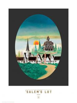 Salem's Lot - Revised, Suntup Editions, Kunstdrucke, USA, 2017