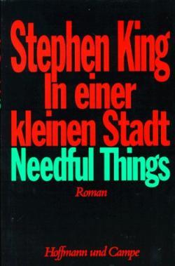 Needful Things, Hardcover, 1991
