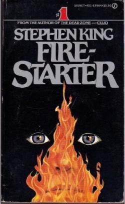 Firestarter, Paperback, 1980