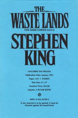 The Dark Tower - The Waste Lands, Paperback, Jan 1991