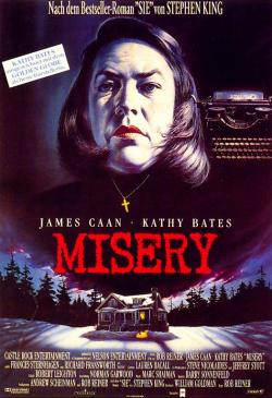 Misery, Movie Poster, 1990