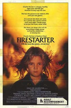 Firestarter, Movie Poster, 1984