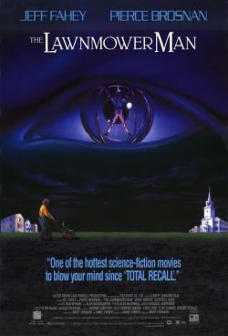 The Lawnmower Man, Movie Poster
