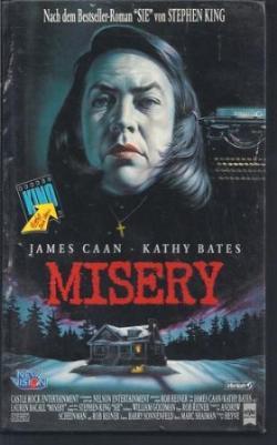 Misery, VHS, 1992