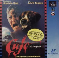 Cujo, Laser Disc, 1983