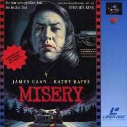 Misery, Laser Disc, 1997