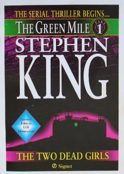 The Green Mile 1 - The Two Dead Girls, Paperback, 1996