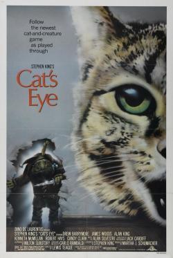 Cat's Eye, Movie Poster, 1986