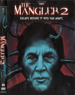 The Mangler 2 - Graduation Day, DVD