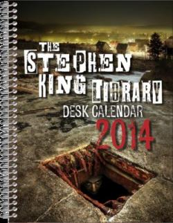 Stephen King Desk Calendar, Calendar, 2014