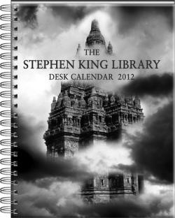 Stephen King Desk Calendar, Calendar, 2012