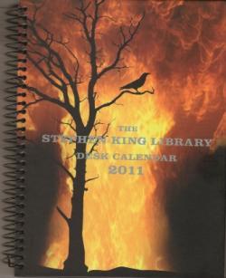 Stephen King Desk Calendar, Calendar, 2011
