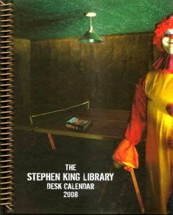 Stephen King Desk Calendar, Calendar, 2008