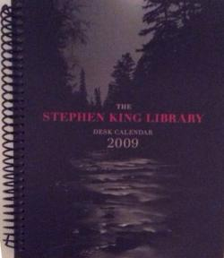 Stephen King Desk Calendar