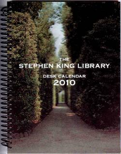 Stephen King Desk Calendar, Calendar, 2010