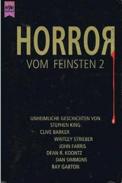 Horror vom Feinsten 2 enthält Klapperzähne, Heyne, Paperback, Germany, 1993