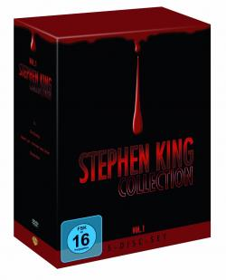 Stephen King Collection, Vol. 1, FSK 16, 5 DVDs, Warner Home Entertainment, DVD, Germany, 2007