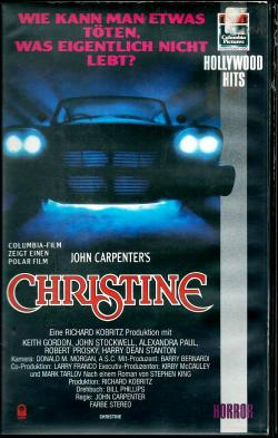 John Carpenter's Christine, VHS, 1983
