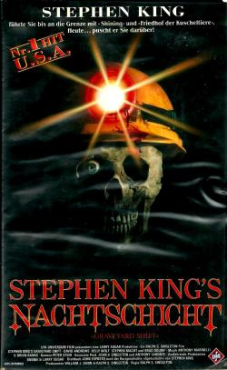 Stephen King's Graveyard Shift, VHS, 1990