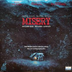 Misery, Laser Disc, 1991