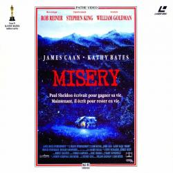 Misery, Laser Disc, 1993