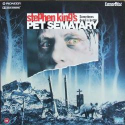 Stephen King's Pet Sematary, Laser Disc, 1989