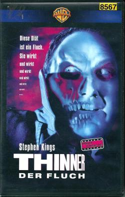 Thinner, VHS, 1996