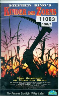 Children of the Corn, VHS, 1992