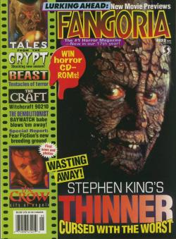 No 152 Stephen King Thinner, Fangoria, Magazine, USA, 1996