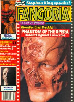 No 87 Stephen King speaks, Fangoria, Magazine, USA, 1989