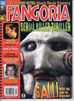 No 236 Stephen King Riding the Bullet, Fangoria, Magazine, USA, 2004