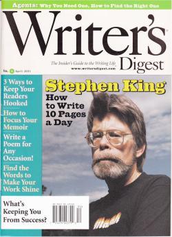 Writers Digest, Magazine, 2001