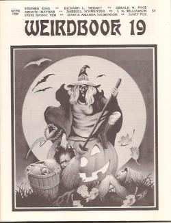 Ausgabe #19 1984 Gramma, Weirdbook Press, Magazine, USA, 1984