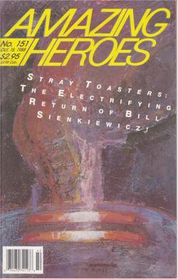 Ausgabe #151 10/1988 Mr. King Meets the Comics, Fantagraphics Books, Magazine, USA, 1988