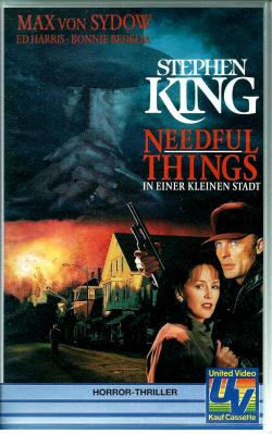 Needful Things, VHS, 1993