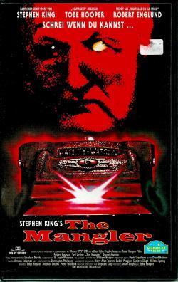 The Mangler, VHS, 1995