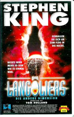 The Langoliers, VHS, 1995