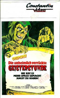 FSK 16, gekürzt, Constanin / Taurus, VHS, Germany, 1982