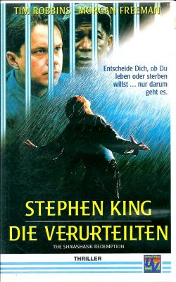 The Shawshank Redemption, VHS, 1994