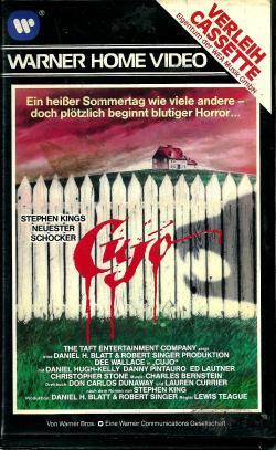 FSK 16, Verleihcassette, Kino-Sync., Sex-Szene, Warner Home Entertainment, VHS, Germany, 1983