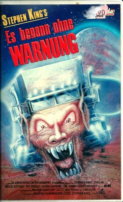 Maximum Overdrive, VHS, 1986