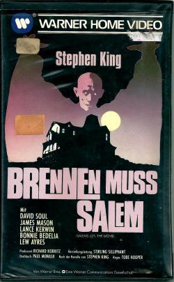 Salem's Lot, VHS, 1979