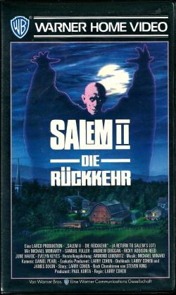A Return to Salem's Lot, VHS, 1987