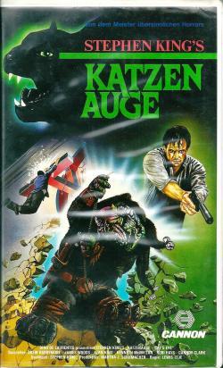 Cat's Eye, VHS, 1985
