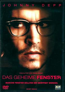 Secret Window, DVD, 2004