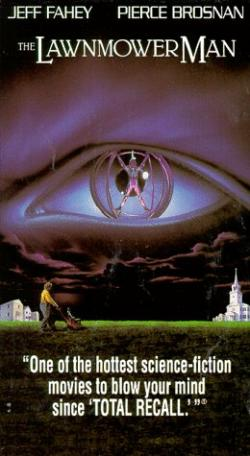 The Lawnmower Man, VHS, 1992
